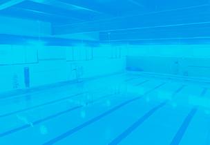 Warm-water Saline Zero Entry Therapy Pool